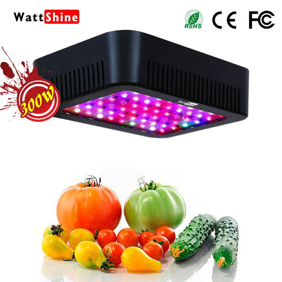 Wattshine Full spectrum 300W grow lamp 16 bands No rust Intelligent Temperature control Safety Energy saving Certification CE