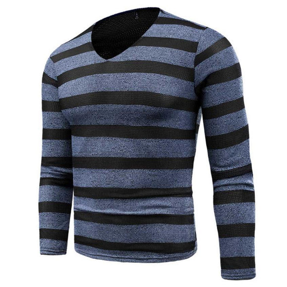 Men's Autumn Winter Sweater Pullover Slim Jumper Knitwear Outwear Blous