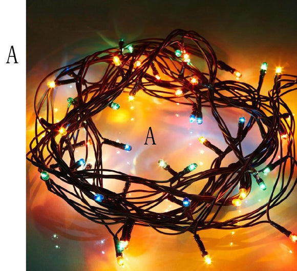 MUQGEW High Quality 150 Inch Warm White Rattan LED String Fairy Lights For Xmas Wedding Party Hot