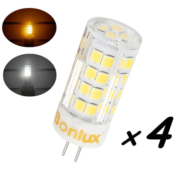 4W LED G4 Bi-pin Base Light Bulb 35W G4 Halogen Bulb Replacement 110v/220v G4 Led Bulb Under-cabinet Ceiling Light Lighting