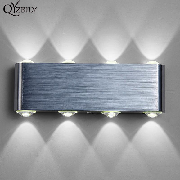 Modern Wall Lamp Bedroom Bathroom Led Wall Light 110V-220V Aluminum Decorate Waterproof Luminaire Abajur Industrial Wall Sconce
