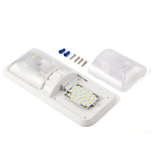 Kohree 12V Led RV Ceiling Dome Light RV Interior Lighting for Trailer Camper with Switch, White