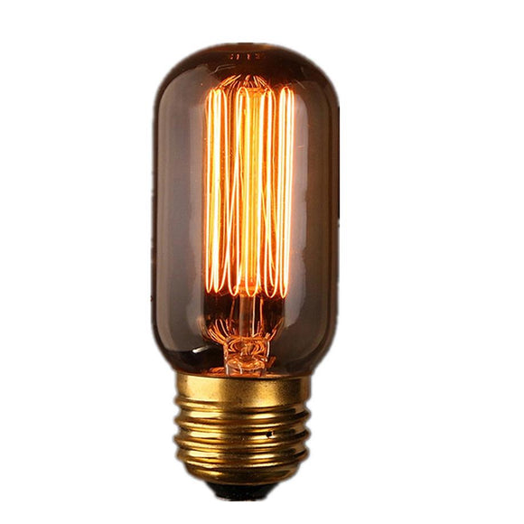 MUQGEW T45 E27 40W 2300K Filament Light Bulbs Vintage Industrial LED Edison Lamps Retro Style High Qual Hot Sell