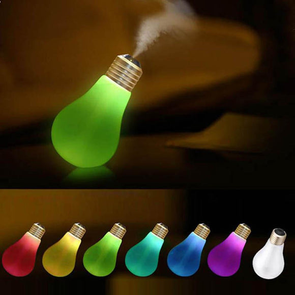MUQGEW Lamp Humidifier Home Aroma LED Humidifier Air Diffuser Purifier Atomizer Instagram Hot Sell 2017 Newest