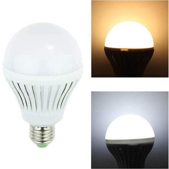 MUQGEW High Quality AC 220V E27 3W 5W 7W 9W 12W Bright LED Globe Energy Saving Bulb Light Lamp Pure White Promotion Low Price