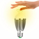 MUQGEW New E27/E26 7W 85~265V 14LED Home Motion Control Sensor light Lamp Bulb Super Bright Blinding Effect