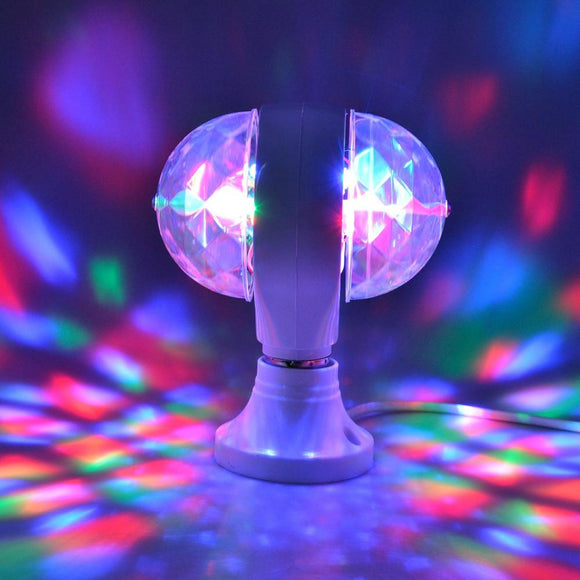 Stage light RGB Color party LED Lamp 3 W E27 For Home Party Small Party Dsico