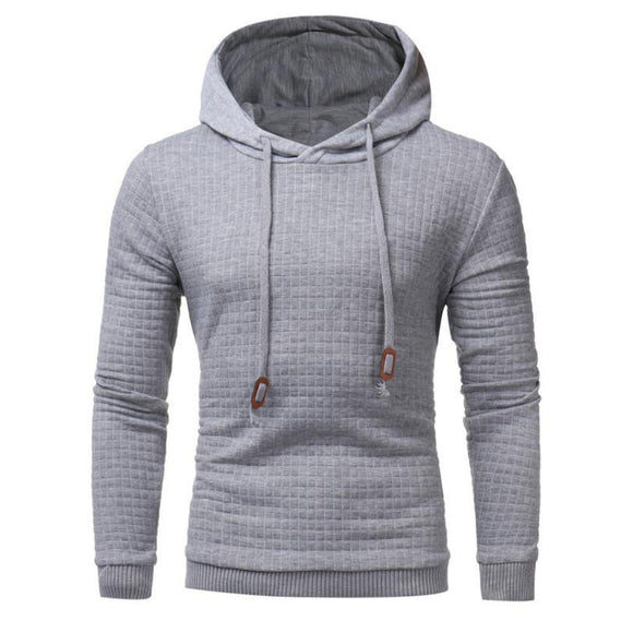The North Of Sportswear men Solid casual Cotton Slim Hoodie men Drawstring Oblique zipper Cardigan Hooded Sweatshirt Face