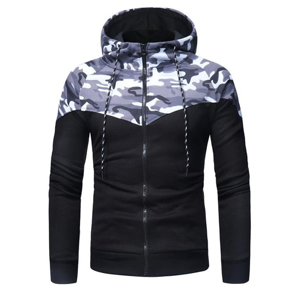 The North Of Men Camouflage Hoodies Male Military Printing Pullovers Sweatshirts Man Hooded Hoodies men Sportswear Top Face