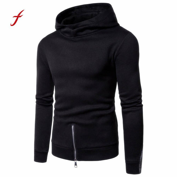 Men's Long Sleeve Zipper Hoodie Hooded Sweatshirt Top Tee Outwear Blouse hoodies sweatshirts men fashion streetwear tracksuit