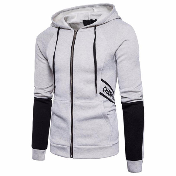 The North Of Men Autumn Slim Letter Printed Sweatshirts Hoodie Sweatshirt Zipper Tops Blouse Outwear Assassins Creed Hoodie Face