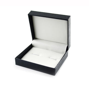 2017 New Arrival Present Cufflinks Gift Box Jewelry Package Black#10