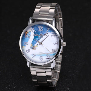 ZhouLianFa Silver Watches Top Brand Luxury Animal Pattern Quartz Watch Nice Sport Military Stainless Steel Dial Wrist for Women
