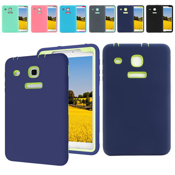 For Samsung Galaxy Tab E 8-inch T377A Hard Rubber Shockproof Case Cover T377V T377T