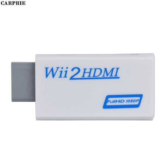 CARPRIE Full HD HDMI 1080P Converter Adapter With 3.5 mm Audio Output For Wii 2