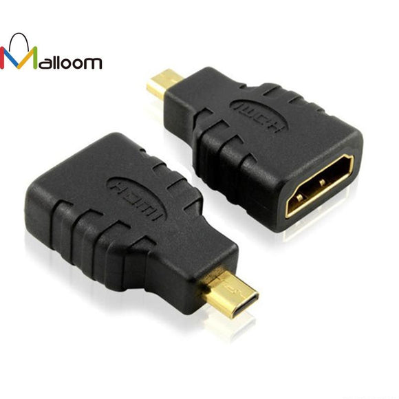 Malloom 2017 Best Sale Micro HDMI type D to HDMI Female Converters Adapter For Microsoft Surface RT#30
