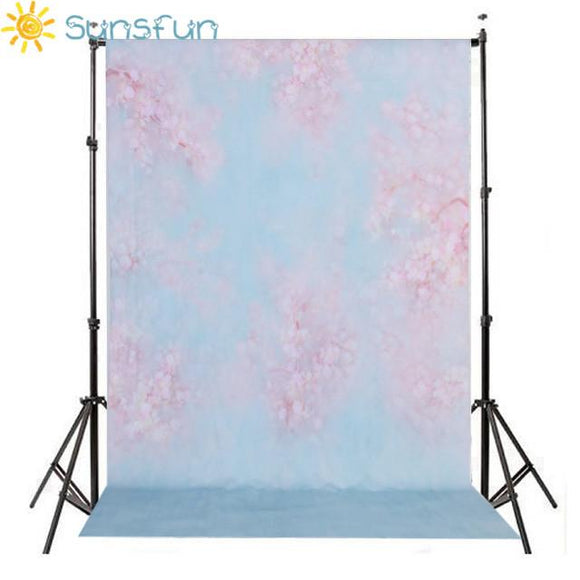 Sunsfun Vinyl Photography Backgrounds Studio Senior Digital Print Backdrop Floral Newborn Backdrops for Photo Studio S-101