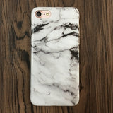 Kerzzil Marble Stone Cases For iPhone 7 6 6S Plus Granite Cover For iPhone X 6 6S 8 Plus Soft Silicone Phone Back Capa