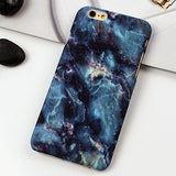 Clespruce New Fashion Phone Cases For iPhone X 8 8plus Case Marble Stone image Painted back Cover For iphone 6 6s7 Plus 5 5s SE