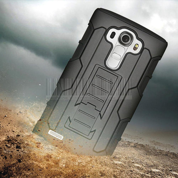 Protective Armor Hard Case Rugged Cover+Holster With Belt Clip For LG G2 D801 D802/G2 Verizon VS980/G3 D850/G4 H810/G5 H830
