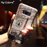 My Colors Soft TPU 3D Phone Case For Samsung Galaxy S8 Case Cover Protective samsung s8 case Mobile Phone Case bags