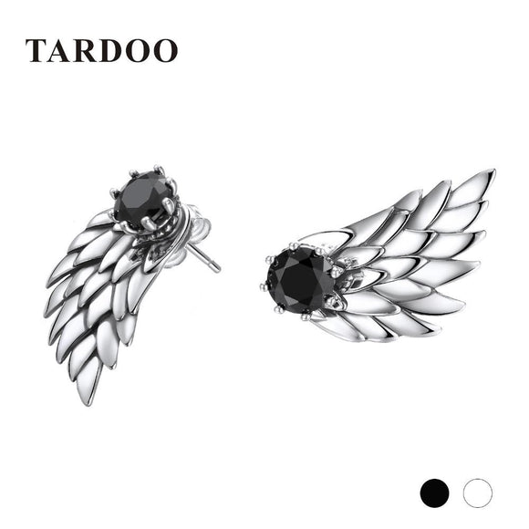 Tardoo Wing 100% 925 Sterling Silver Stud Earrings Cute & Sweet Style Fine Jewelry for Women and Girls