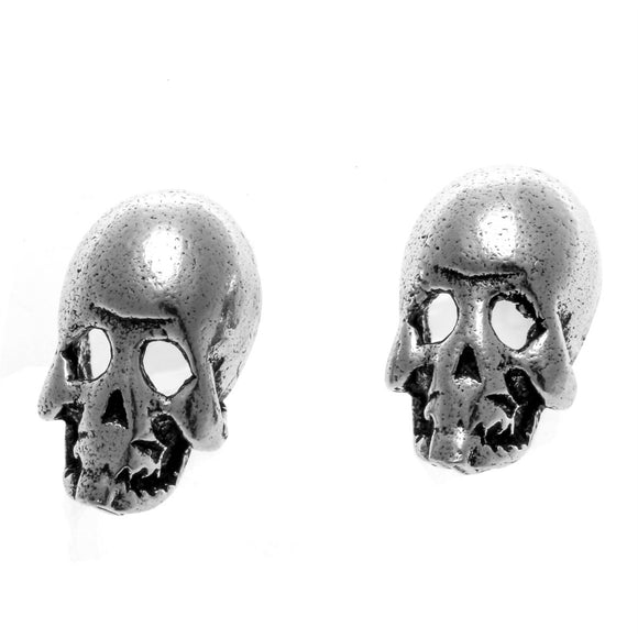 YACQ 925 Sterling Silver Skull Skeleton Stud Earrings Birthday Party Jewelry Gift for Women Girlfriend Her Mom Dropshipping CE84