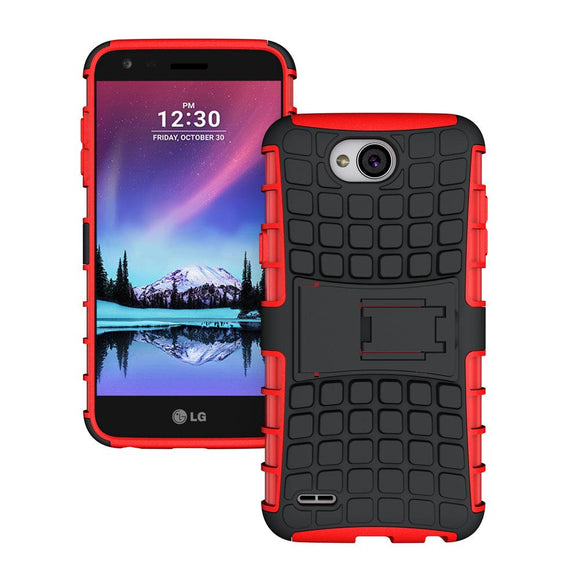 Dual Layer Anti Shock Hybrid Armor Case Hard PC+TPU Cover For LG XPower 2/LV7/K10 Power/X Charge/Fiesta LTE/Fiesta 2 L64VL L63BL
