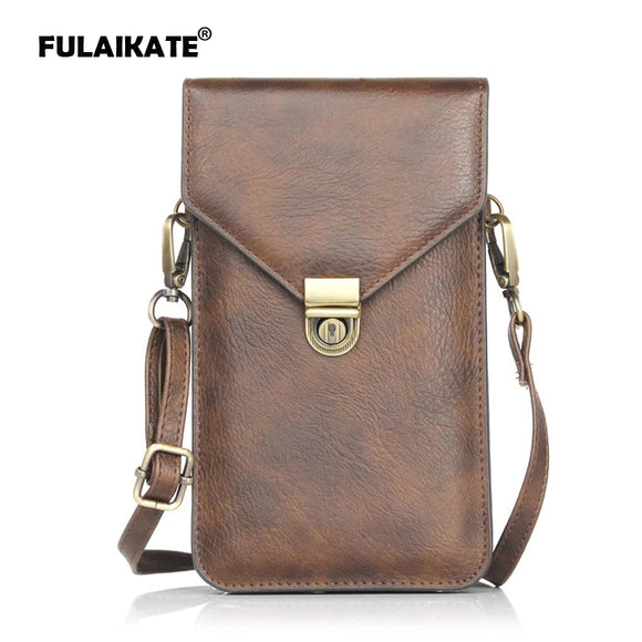 FULAIKATE Rhino Pattern Universal Bag for Apple iPhone6 7 Plus 6sPlus Card Layard Portable Pouch for Samsung Galaxy Note4/3