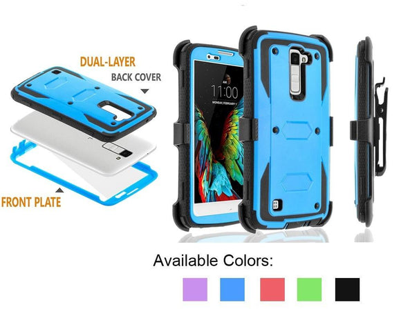 YUMQUA Funda Capa For LG K8 Cover Case Shell Armor Cases Protection for LG K7 / Tribute 5 / Escape 3 / Treasure / Phoenix 2 Case