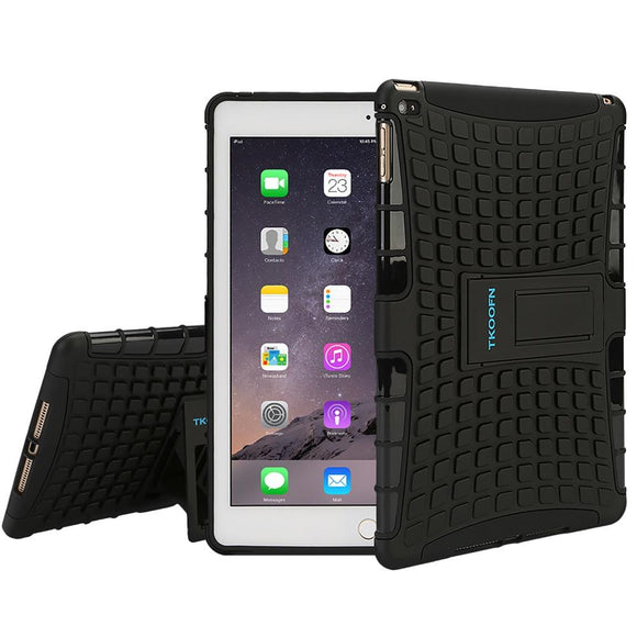 Tablet Case for ipad air 2 2 in 1 Anti Slip Cover Shockproof Drop Resistance Stand Cover Free Film + Stylus + Cloth
