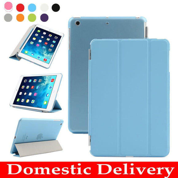 Tablet Case For Apple Ipad Mini Smart Cover Magnetic Case Stand PU Leather Case For Ipad Mini 1 Mini 2 3 With Retina Display