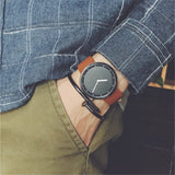 2018 Military Digital Korean Fashion Outdoor Watches Men Young Students Leather Simpe D Style W Male Sports Watches man