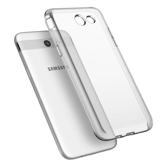 Slim Soft Silicone Clear Case Anti Drop Cover For Samsung Galaxy J7 V J727V / J7 Perx J727P / J7 Sky Pro / J7 2017(US Version)