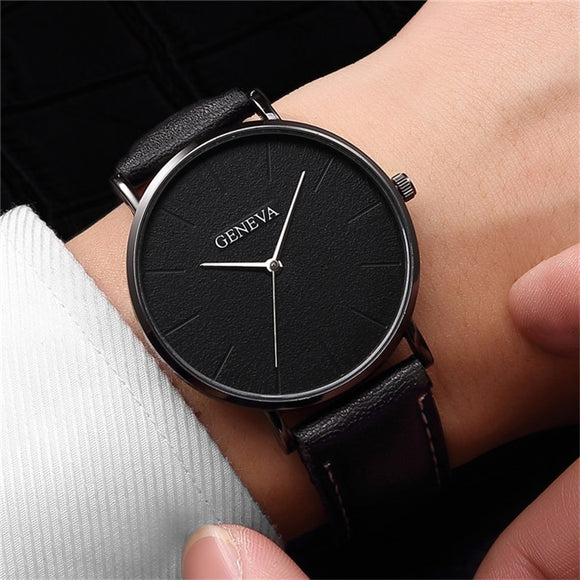 Relogio Masculino Mens Watches Top Brand Luxury Men Military Sport Wristwatch Leather Quartz Watch erkek saat relogios