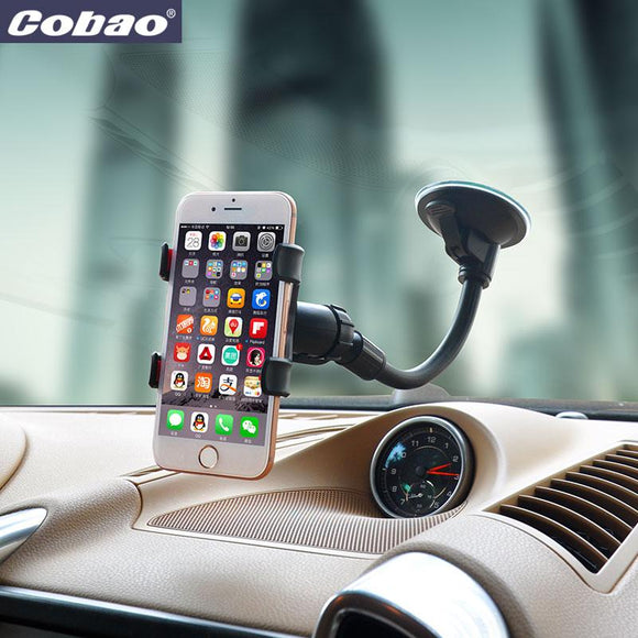 Universal Silicone Sucker monopod car phone holder stand support for iphone 6 5s 4s xiaomi redmi note 2 huawei p8 lite
