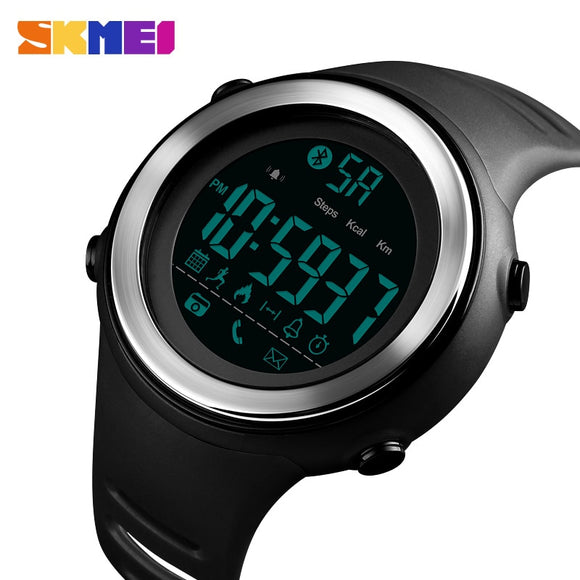 SKMEI Smart Watch Men Sport Watchs Pedometer Waterproof digital clock Sleep Monitor Data Calorie Wristwatch Relogio Masculino