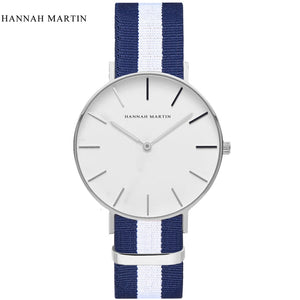 Casual Watches Waterproof Choose Fashion Hannah Martin Ultra thin Luxury Brand Simple Minimalism Design Men Wrist Watch DW mujer