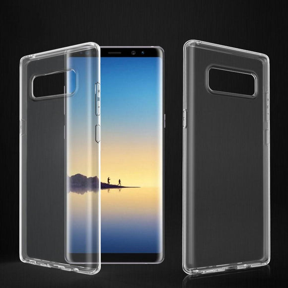 Slim Fit Soft Silicone Transparent Clear Case Anti Scratch Impact Protective Cover For Samsung Galaxy Note 8 N950F N950FD N950U
