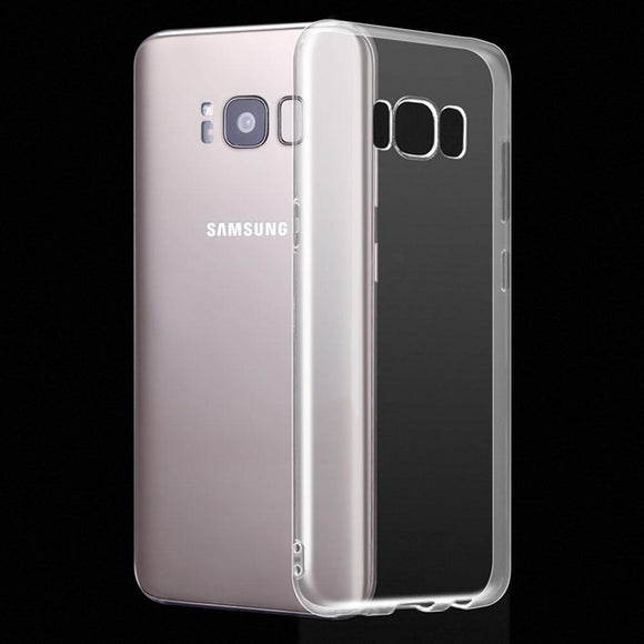 Slim Fit Soft Silicone Gel Transparent Clear Case Anti Scratch Impact Protective Phone Cover For Samsung Galaxy S8 Plus S8+ G955