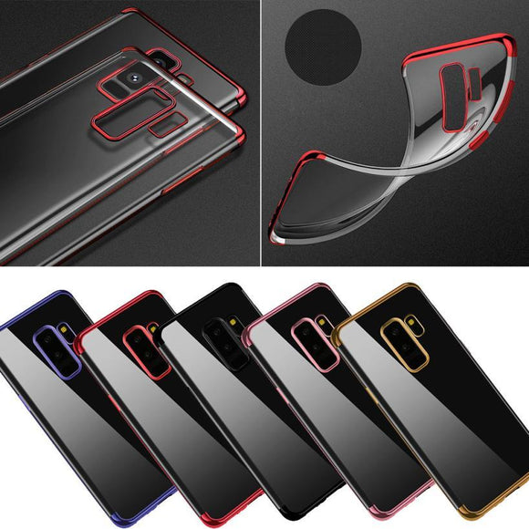 New Coming Lovely For Samsung Galaxy S9 Plus 6.2 inch Luxury Ultra-thin Slim Clear Soft TPU Case Cover