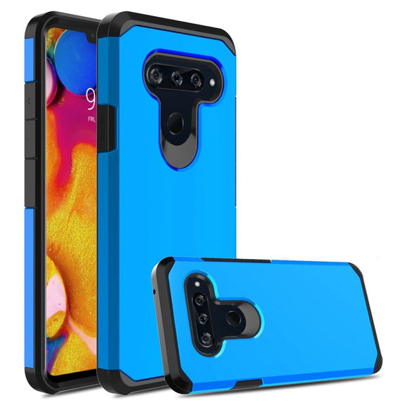 For LG V40 / V40 thinq Case 2 In 1 Soft TPU & Hard PC Back Hybrid Armor Case Anti Shock Protective Cover For LG V40 / V40 ThinQ