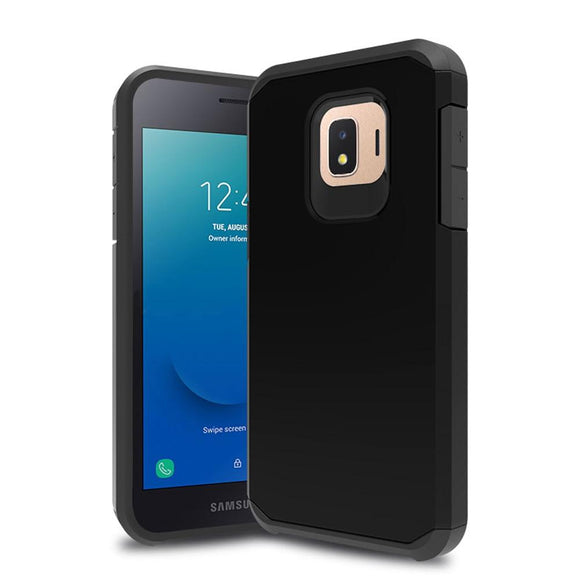 2 In 1 Slim Fit Hybrid Armor Case For Samsung Galaxy J2Core Anti Drop Soft TPU & Hard Back Cover For Samsung Galaxy J2 Core 2018