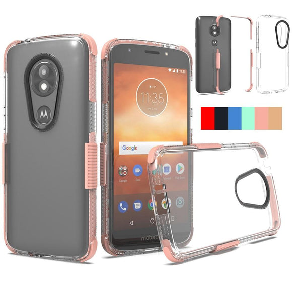For Motorola Moto E5 Play / Moto E5 Cruise Case Slim Fit Transparent Clear Case Hard Acrylic Back Anti Scratch Shockproof Cover