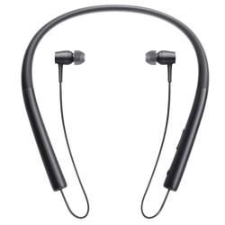 Sony MDR-EX750BT/B h.ear in Wireless Bluetooth Behind-the-Neck Headphones w/Integrated Mic & NFC (Charcoal Black)