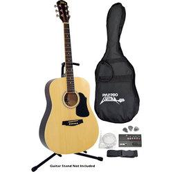 6-String Acoustic Guitar, Full Scale, Accessory Kit Included