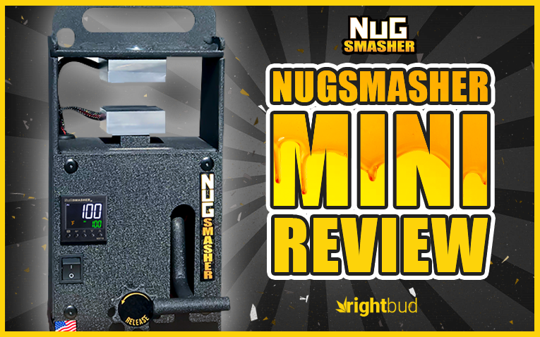 Best Personal Rosin Press 2019 - NugSmasher Mini
