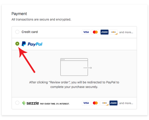 Financing with PayPal Credit — Rightbud