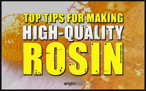 How to make high quality rosin