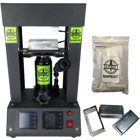 RosinPressNY 10 Ton Hydraulic Rosin Press Starter Kit